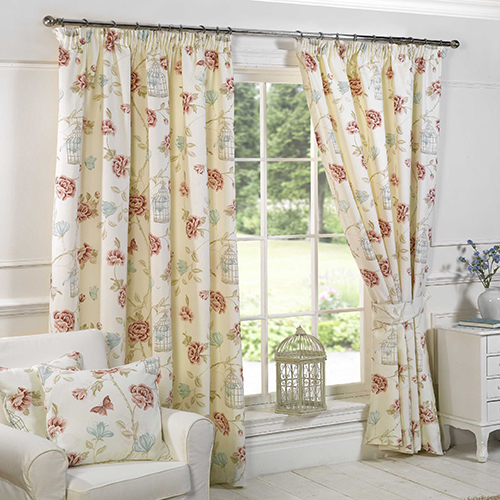 floral-curtains