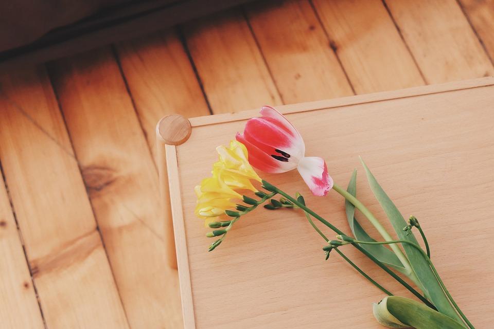 flowers-floor