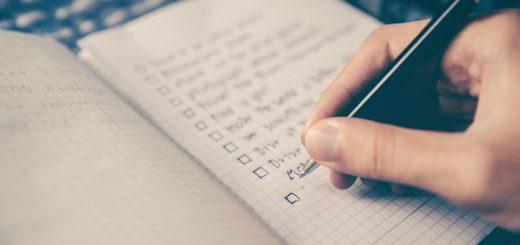 списък с въпроси за търсене на нов дом