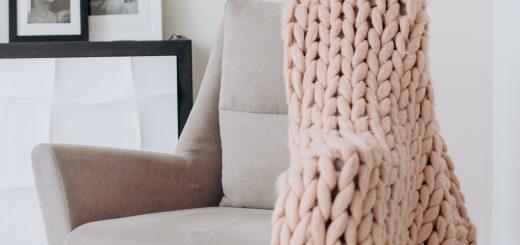 Идеи за топли, плетени мебели
